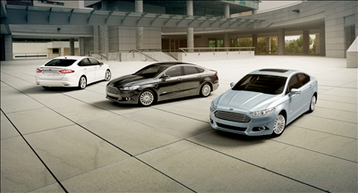 2013 Ford Fusion Line Up
